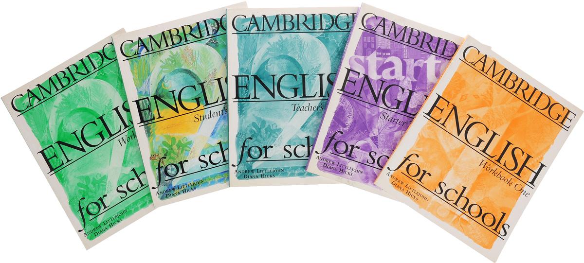 Cambridge English for Schools (комплект из 5 книг)