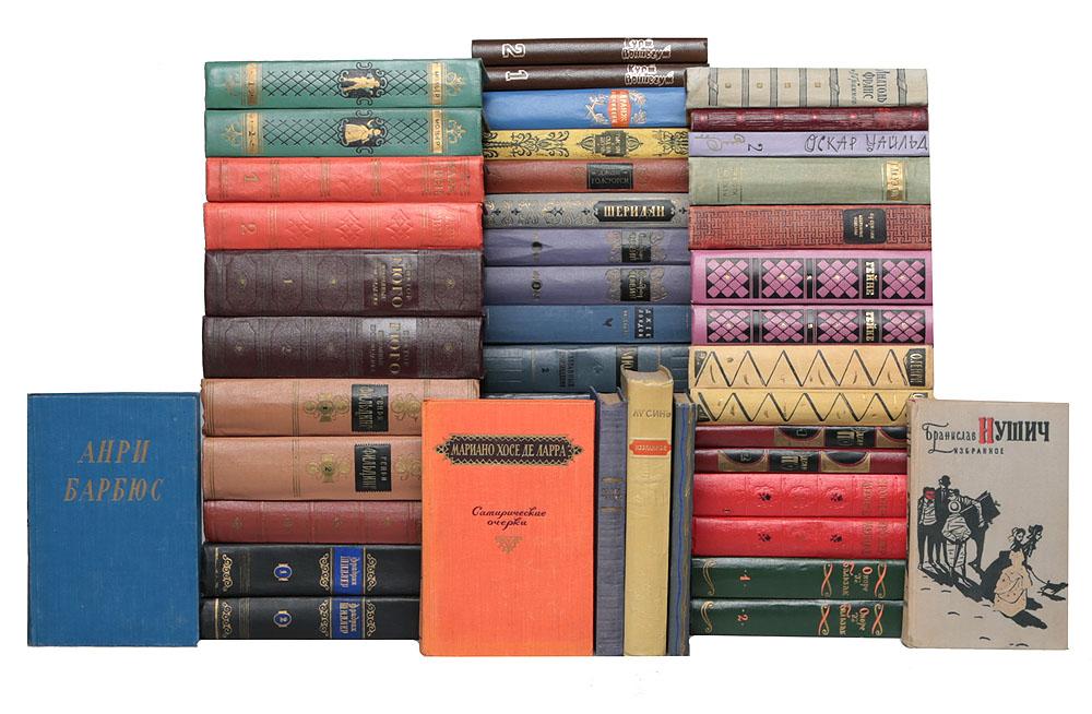 Библиотека избранных произведений зарубежных писателей (комплект из 48 книг)791504В комплект вошли произведения зарубежных авторов, вошедших в золотой фонд мировой литературы.