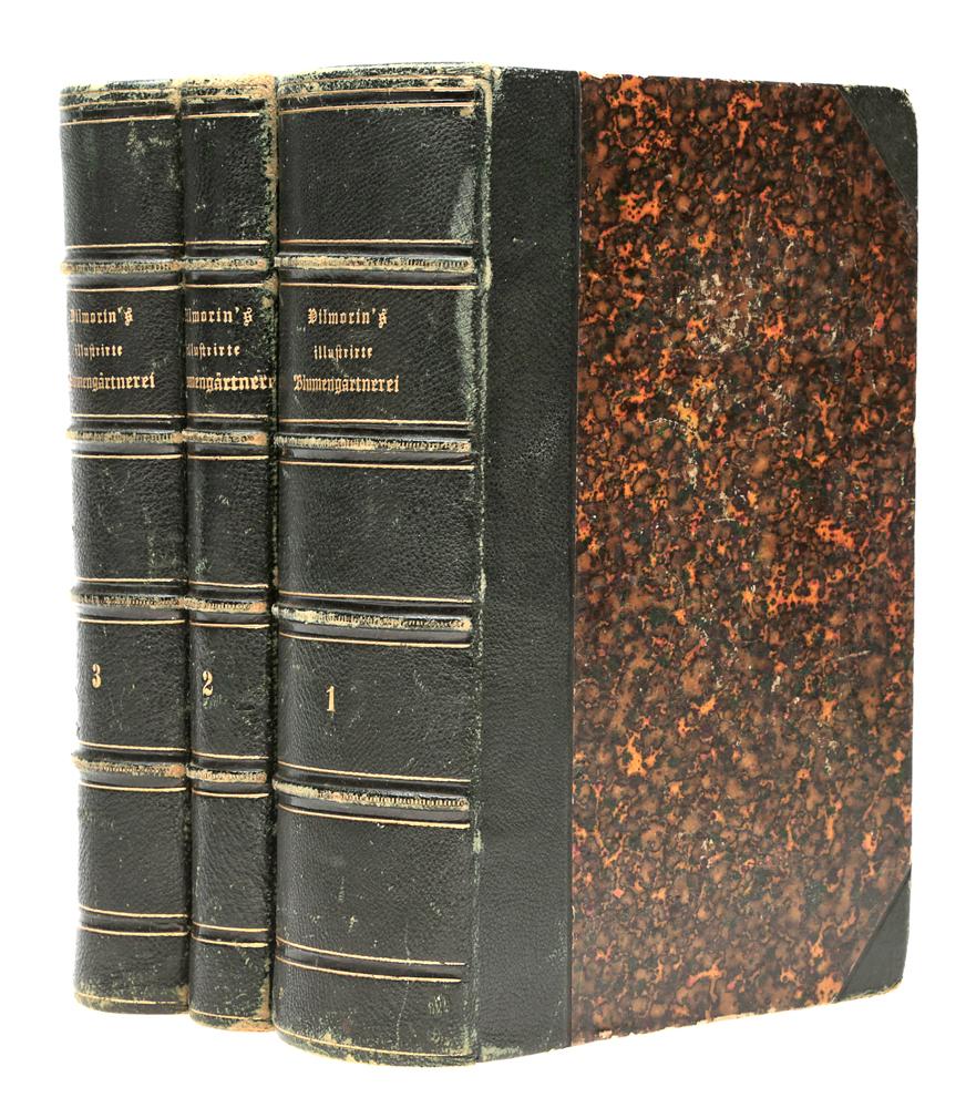 Vilmorin's illustrirte Blumengaertnerei (комплект из 3 книг)