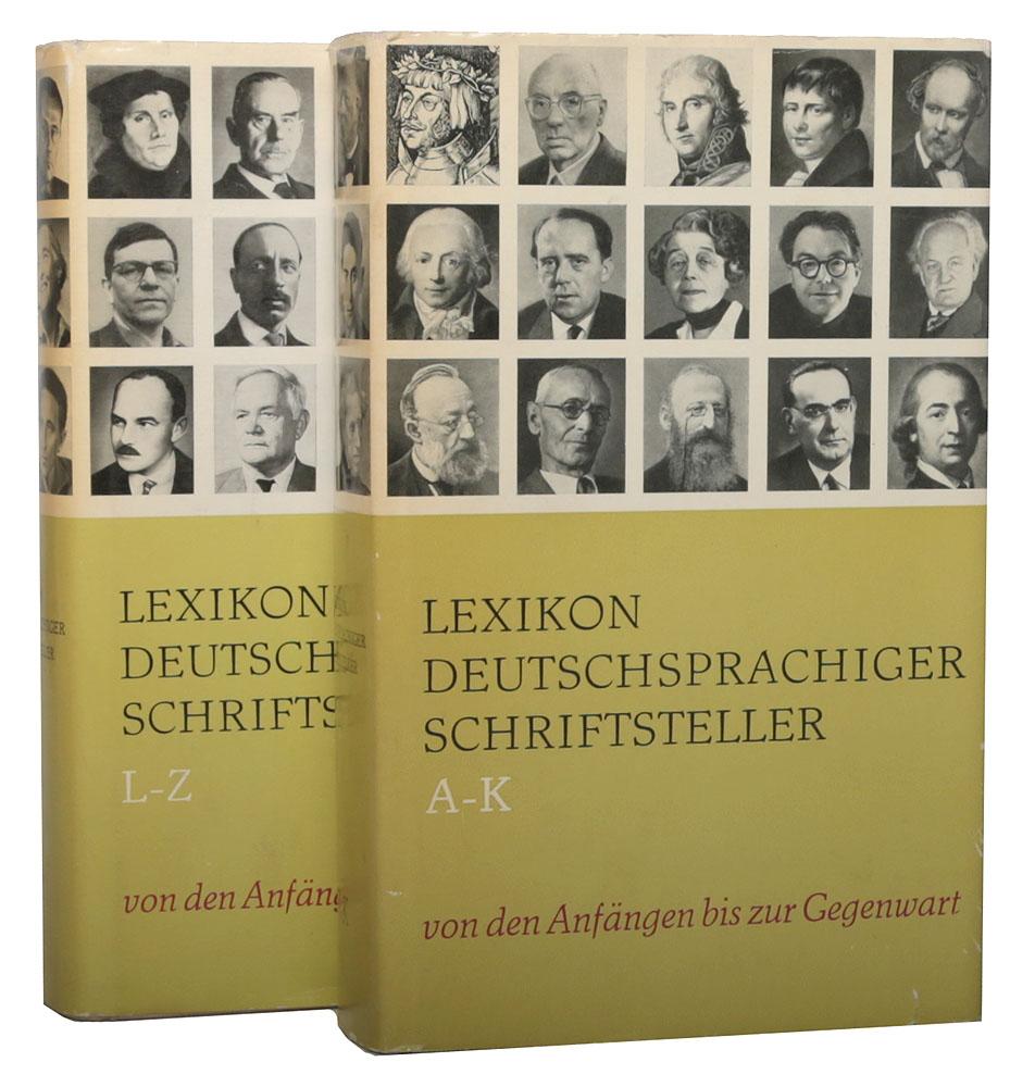 Lexikon deutschsprachiger schriftsteller (комплект из 2 книг)