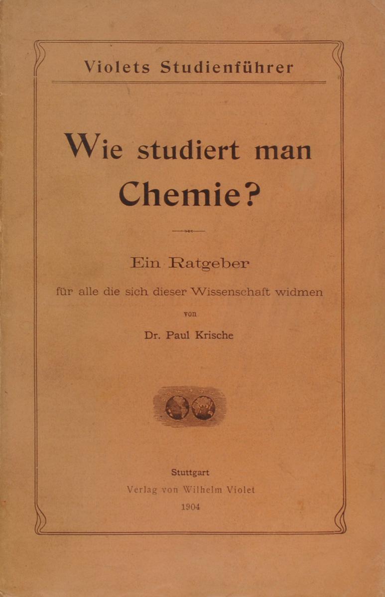 Wie studiert man Chemie?
