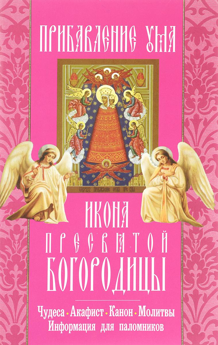 Прибавление ума икона Пресвятой Богородицы: акафист, молитвы, информация для поломников. ( 978-5-00052-215-8 )
