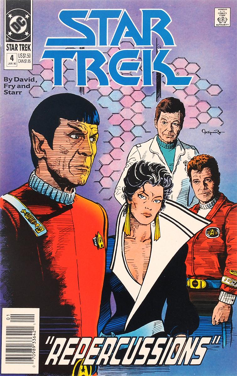 Star Trek: Repercussions, �4, January, 1990