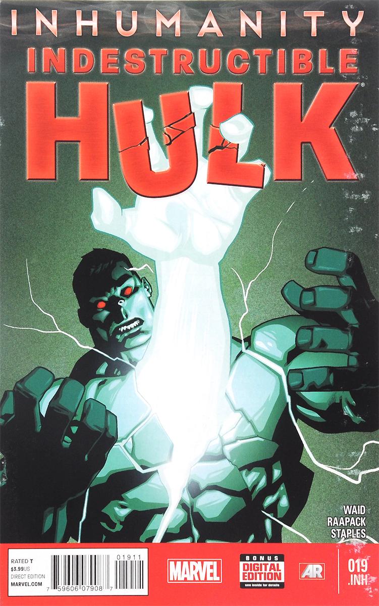 Indestructible Hulk: Humanity Bomb: Part Three, №19, April 2014