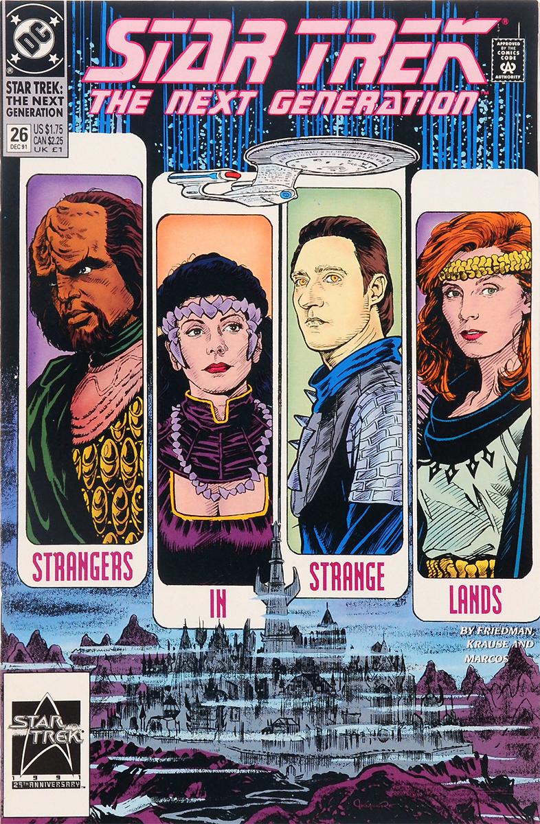 Star Trek: The Next Generation: Strangers n strange Lands! №26, December 1991