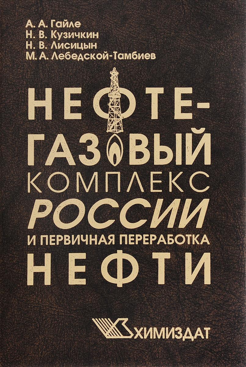 Нефтегазовый комплекс России и первичная переработка нефти