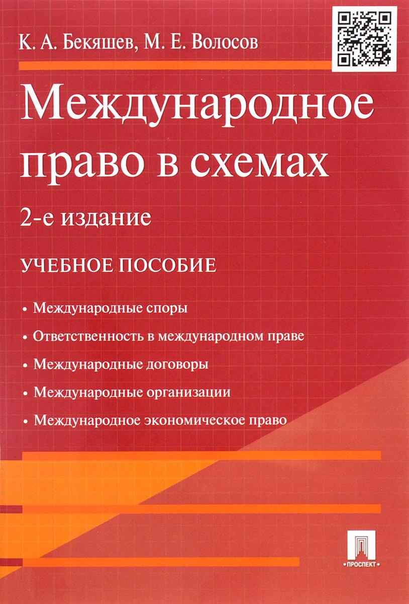 Международное право в схемах. Учебное пособие ( 978-5-392-20300-0 )