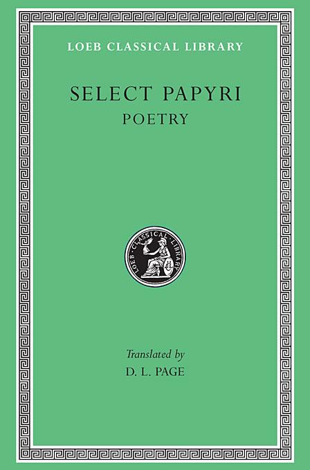 Literary Papyri Poetry L360 V 3 (Trans. Page) (Greek)