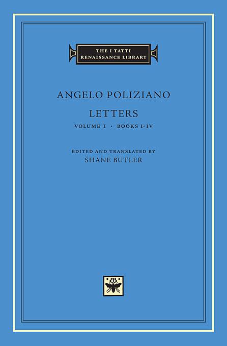 Letters Volume 1 – Books I–IV