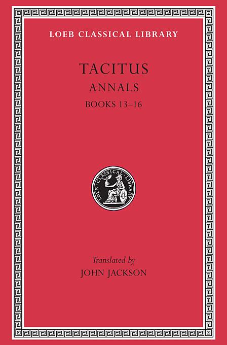 Annals XIII–XVI L322 V 5 (Trans. Jackson)(Latin)