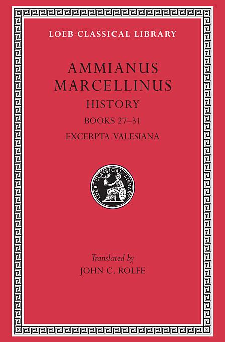 Books XXVII–XXXI L331 V 3 (Trans. Rolfe)(Latin)