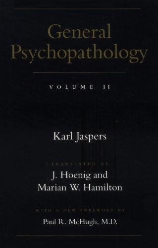 General Psychopathology V 2
