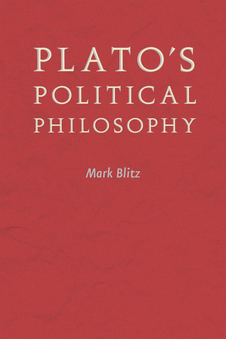 Plato?s Political Philosophy