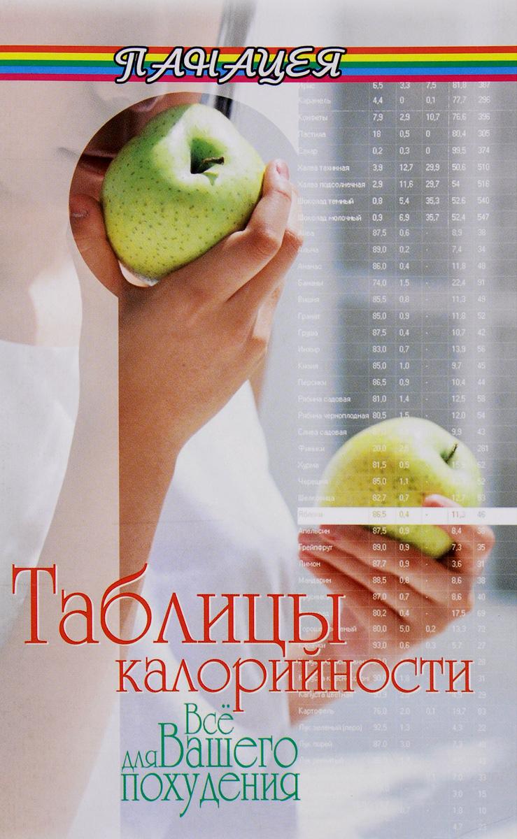 Таблицы калорийности. Все для вашего похудения ( 978-5-222-27511-5 )