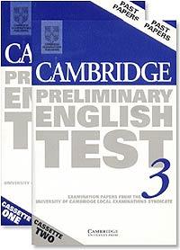 Cambridge Preliminary English Test 3 (2 Audio Cassettes Set)