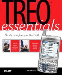 Treo Essentials (Essentials (Que Paperback))
