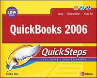 QuickBooks 2006 QuickSteps (Quick Steps)