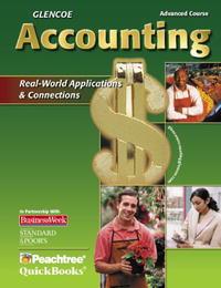 Glencoe Accounting Advanced Course, Student Edition
