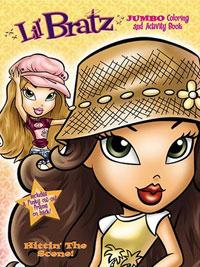 Lil' Bratz Jumbo Coloring Book, Hitting' The Scene! by Modern Publishing