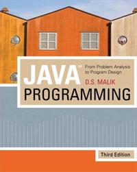 Java Programming: From Problem Analysis to Program Design