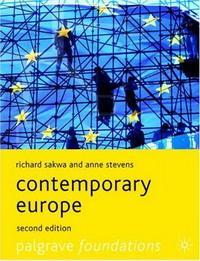 Contemporary Europe (Palgrave Foundations)