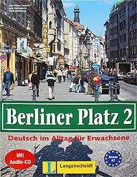 Berliner Platz 2: Deutsch im Alltag fur Erwachsene (+ CD)