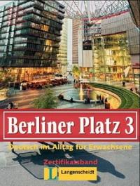 Berliner Platz 3. Lehr- und Arbeitsbuch.