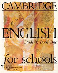 Cambridge English for Schools: Student's Book 1