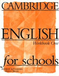 Cambridge English for Schools: Workbook 1