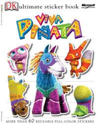 Viva Pinata Sticker Book