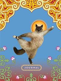 Cat Yoga Mini Journal