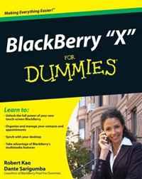 BlackBerry Storm For Dummies (For Dummies (Computer/Tech))