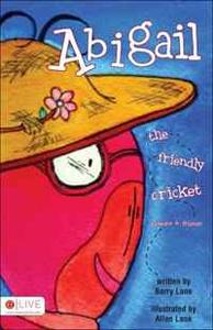 Abigail the Friendly Cricket
