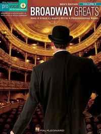 Broadway Greats: Pro Vocal Men's Edition Volume 9