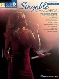 Singable Standards: Pro Vocal Women's Volume 43 (Pro Vocal Women's Edition)