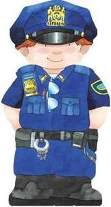 Police Officer (Mini People Shape Books)
