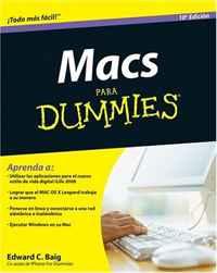 Macs Para Dummies, Spanish Edition