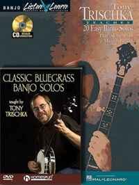 Tony Trischka - Banjo Bundle Pack: Tony Trischka Teaches 20 Easy Banjo Solos (Book/CD Pack) with Classic Bluegrass Banjo Solos (DVD)