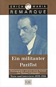 Ein militanter Pazifist: Texte und Interviews 1929-1966