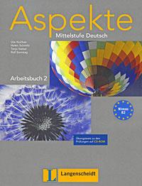 Aspekte Mittelstufe Deutsch: Arbeitsbuch 2 (+ CD-ROM)