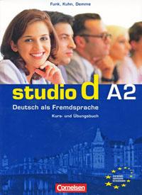 Studio d A2: Deutsch als Fremdsprache: Kurs- und Ubungsbuch (+ CD)