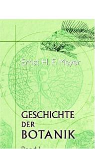 Geschichte der Botanik: Studien. Band I