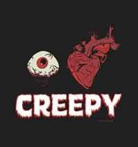 I Heart Creepy Men's T-shirt