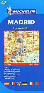 Madrid: Plano e indice