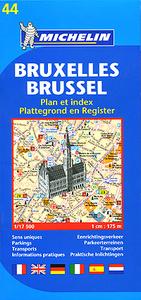 Bruxelles: Plan et index