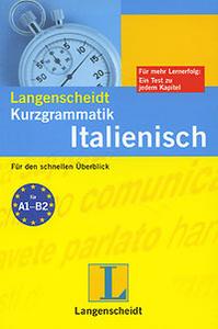 Langenscheidt Kurzgrammatik Italienisch