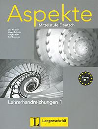 Aspekte: Mittelstufe Deutsch: Lehrerhandreichungen 1