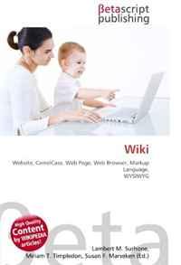 Wiki: Website, CamelCase, Web Page, Web Browser, Markup Language, WYSIWYG