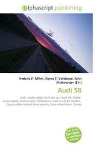 Audi S8: Audi, Sports sedan, Full-size car, Audi A8, Sedan (automobile), Monocoque, Wheelbase, Audi S and RS models, Quattro (four wheel drive system), Four-wheel drive, Torsen