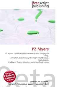 PZ Myers: PZ Myers, University of Minnesota Morris, Pharyngula Blog, Zebrafish, Evolutionary Developmental Biology, Cephalopod, Intelligent Design, Creation?evolution Controversy